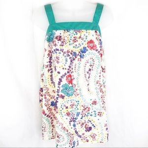 *2/$20* Andrew & Co Floral Tank Top, size M